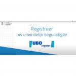 Verplichte bewijslast voor UBO register